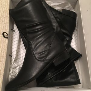 Brand New Aldo Over The Knee Black Boots Size 8